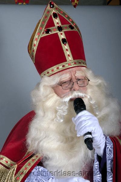 Sinterklaas spreekt