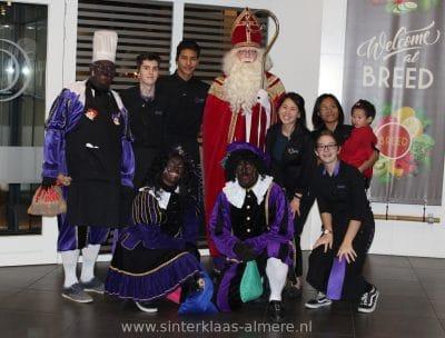 Sinterklaas op bezoek bij Breed