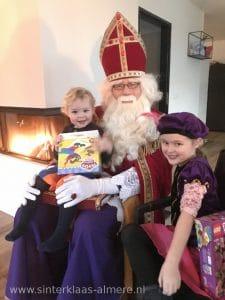 Sinterklaas op huisbezoek