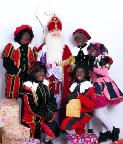 Sinterklaas met de pieten